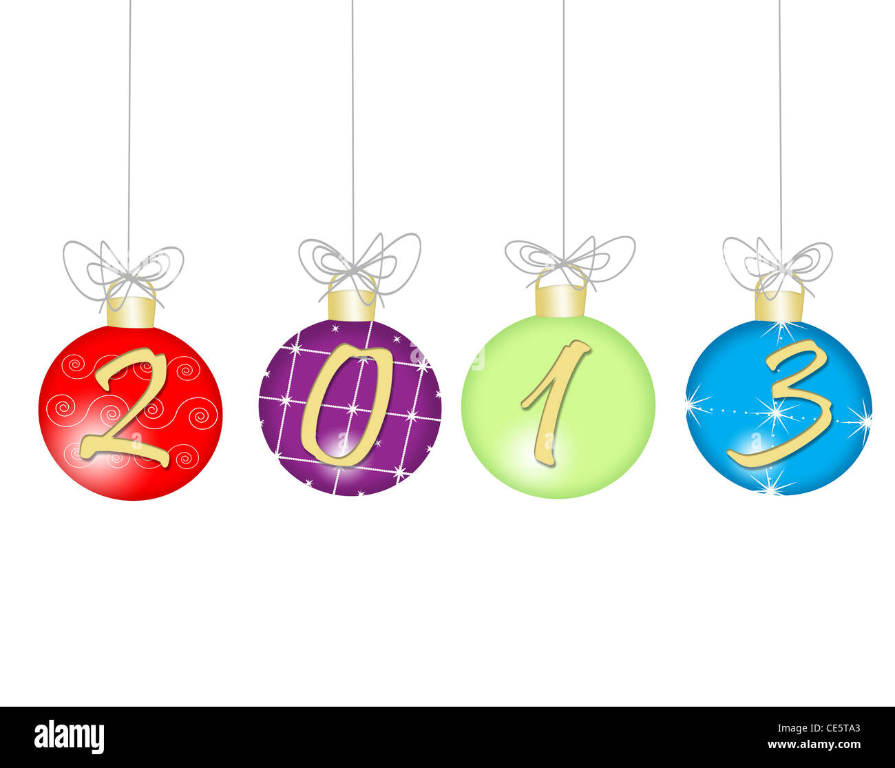 happy new year 2013 - Stock Image