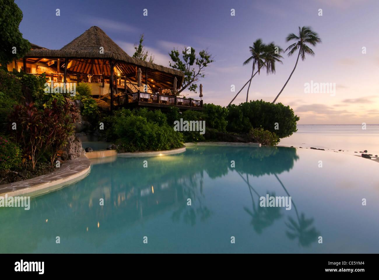 Pacific Resort S Infinity Pool Aitutaki The Cook Islands