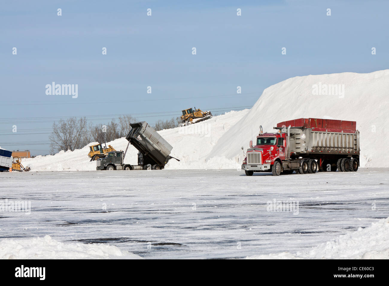 Truck Canada Snow Stock Photos & Truck Canada Snow Stock Images - Alamy