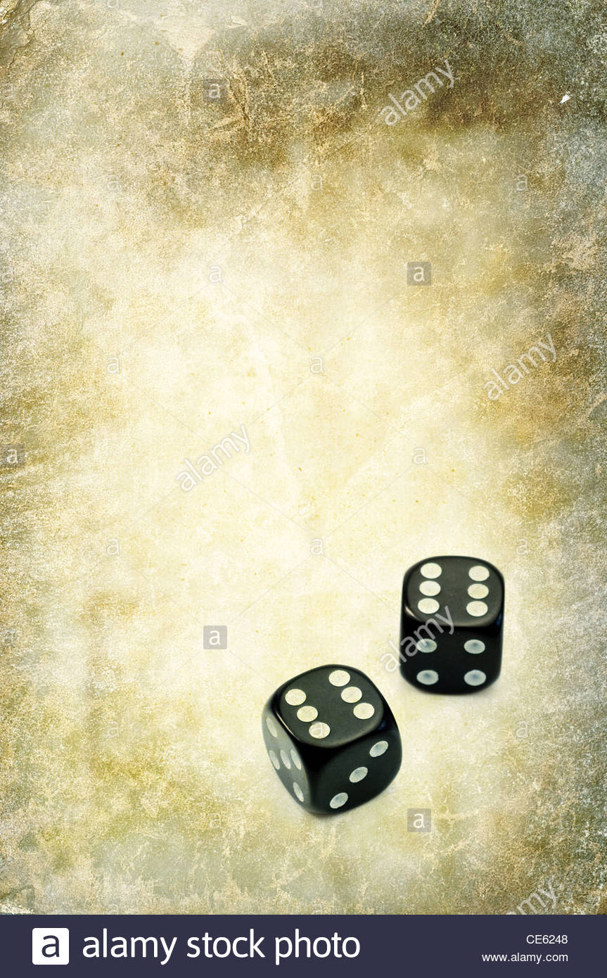lucky dice - Stock Image