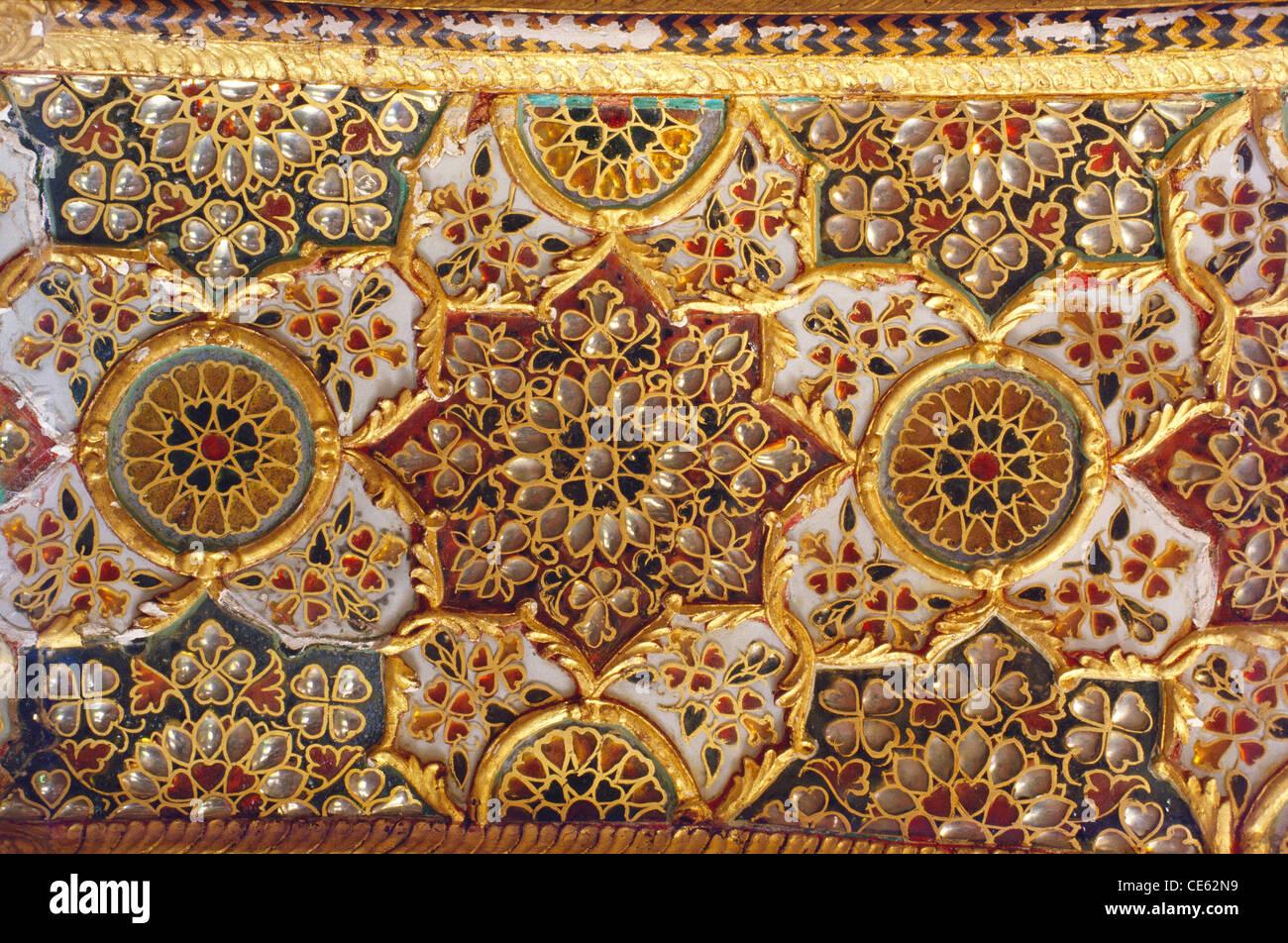 Gold work in Sunheri Kothi Tonk Rajasthan India - Stock Image