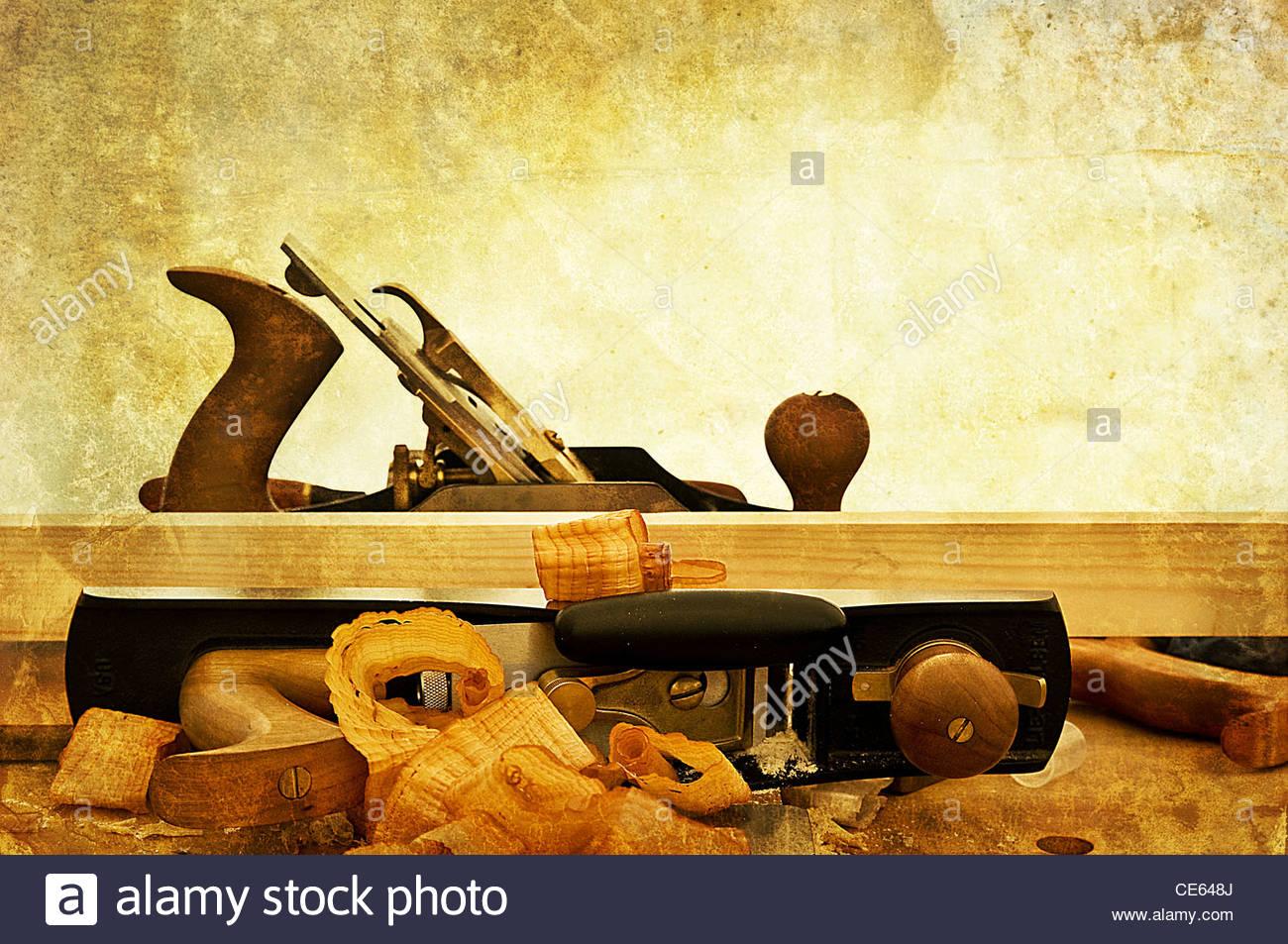 woodwork - Stock Image