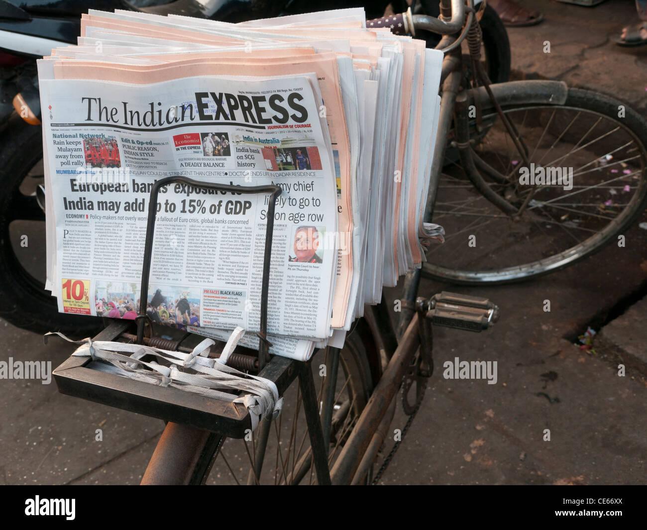 Indian Newspaper Stock Photos & Indian Newspaper Stock Images - Alamy