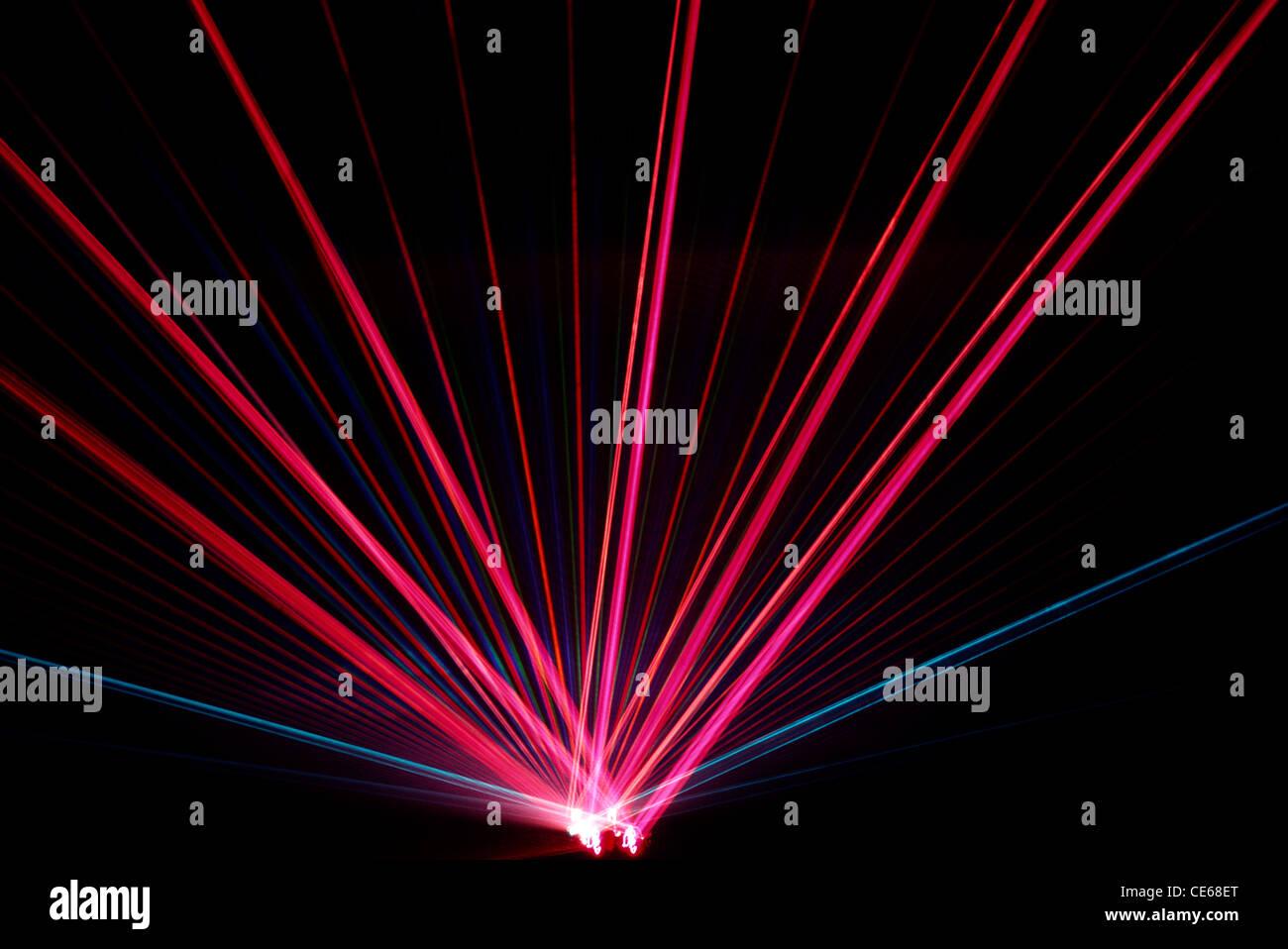 Laser light international Rajasthani conclave ; Jaipur ; Rajasthan ; India - Stock Image