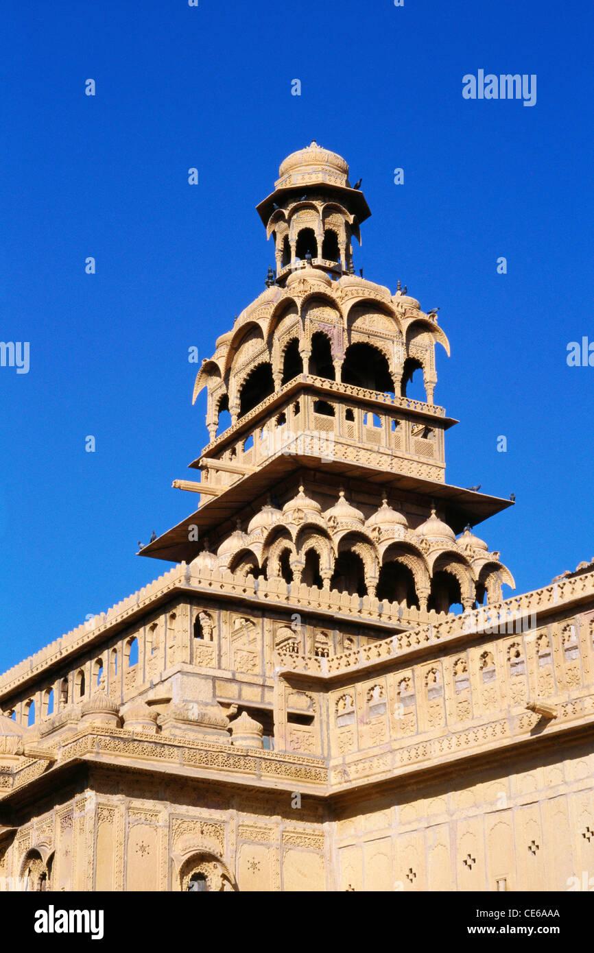 Tazia Tower Badal palace Jaisalmer Rajasthan India Stock Photo