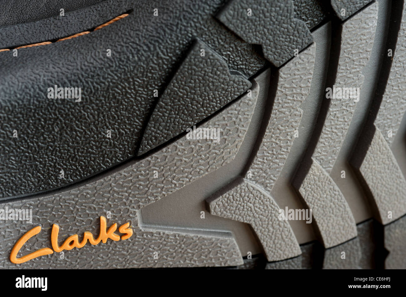 Clarks shoes - Stock Image
