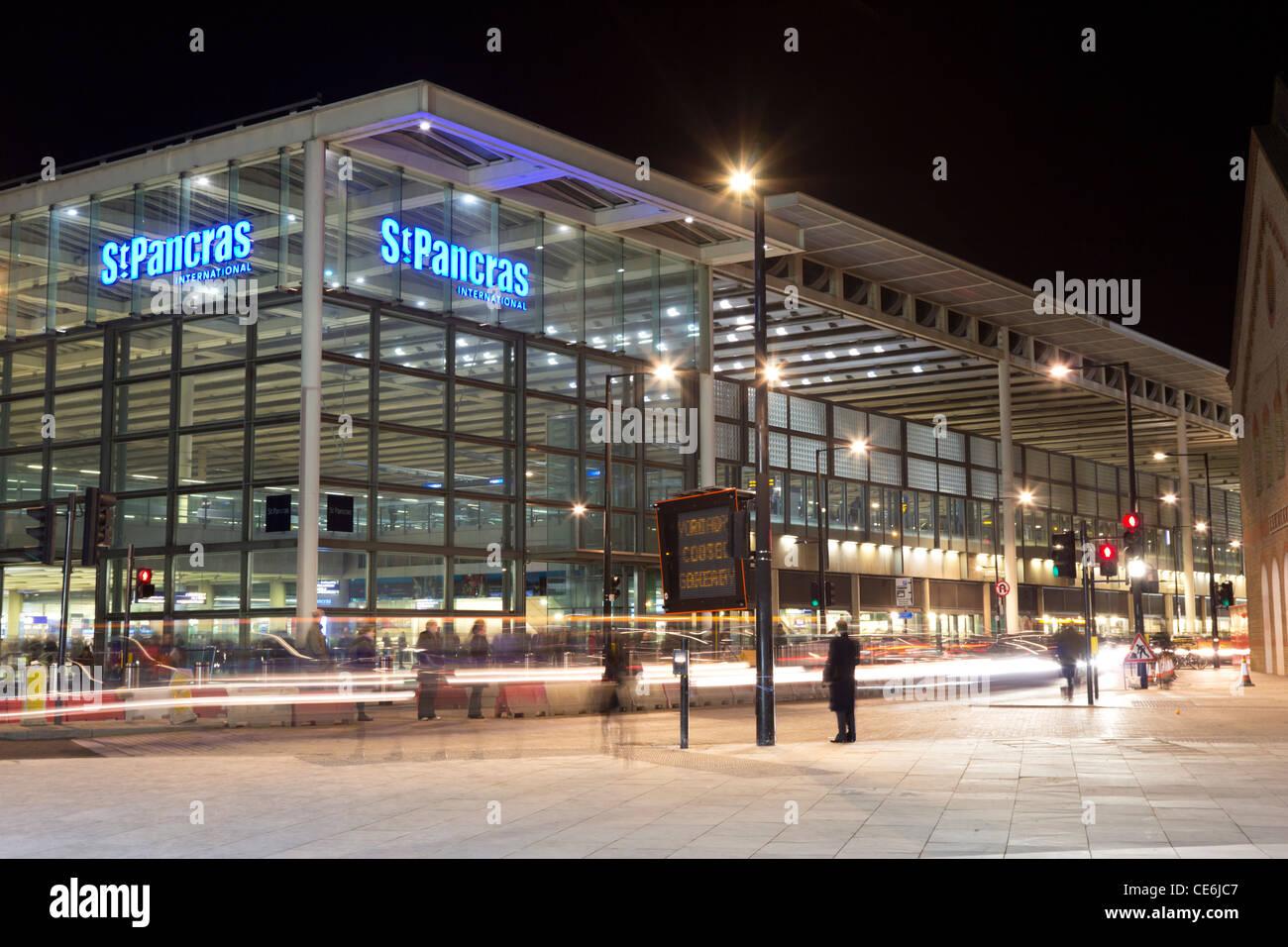 St Pancras Station - London - Stock Image