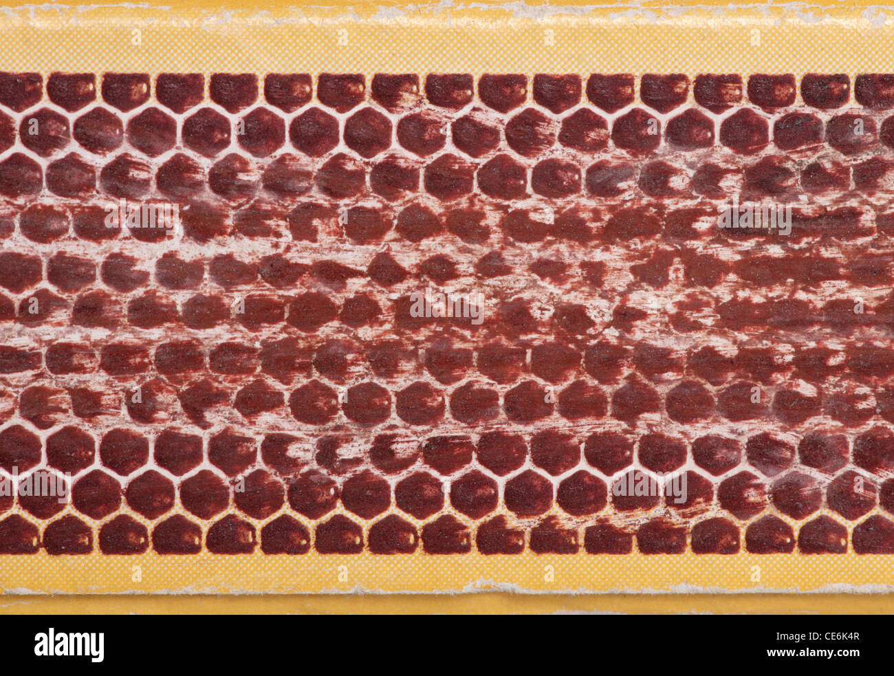 Match box abstract background texture - Stock Image