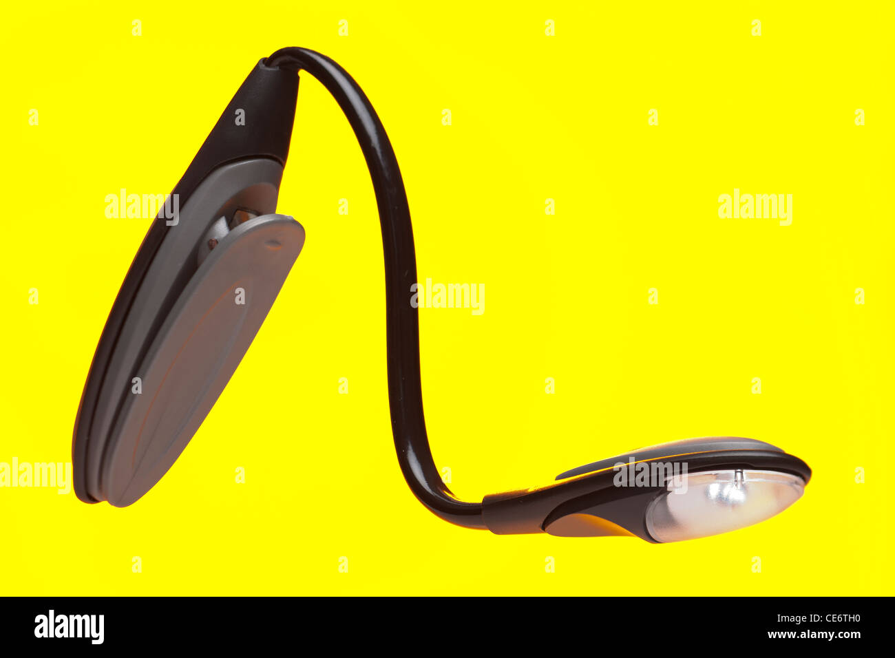 Small clip on handy torch - Stock Image
