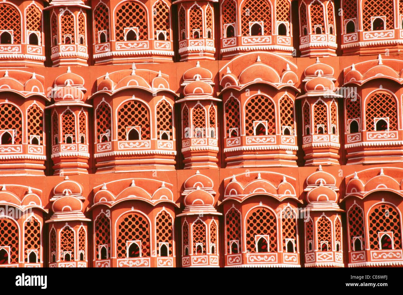 BDR 83400 Hawa Mahal Palace Of Wind Windows Balconies Jaipur Rajasthan India