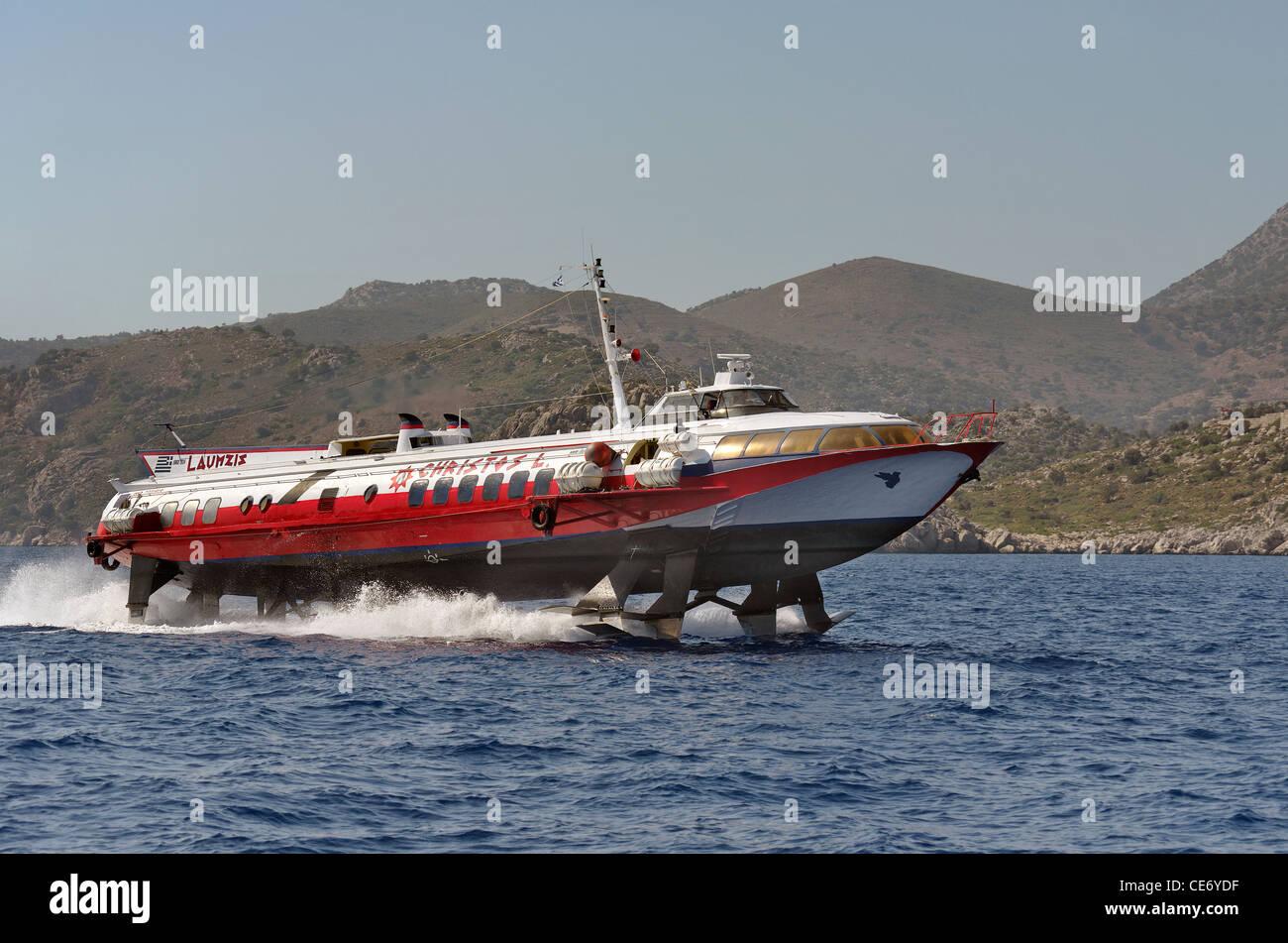 Greek Islands High Speed Ferry