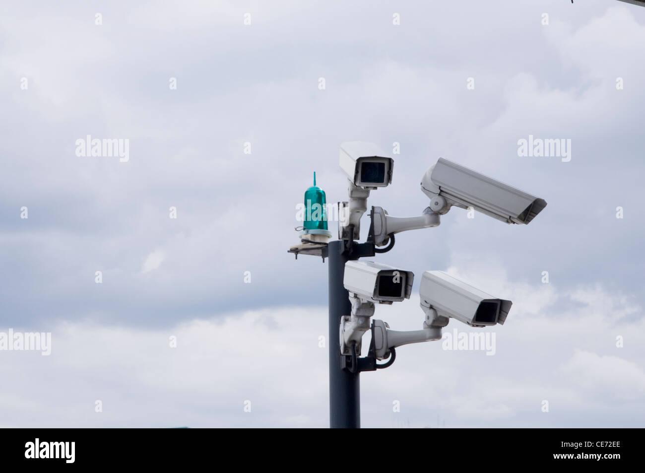 CCTV London big brother - Stock Image