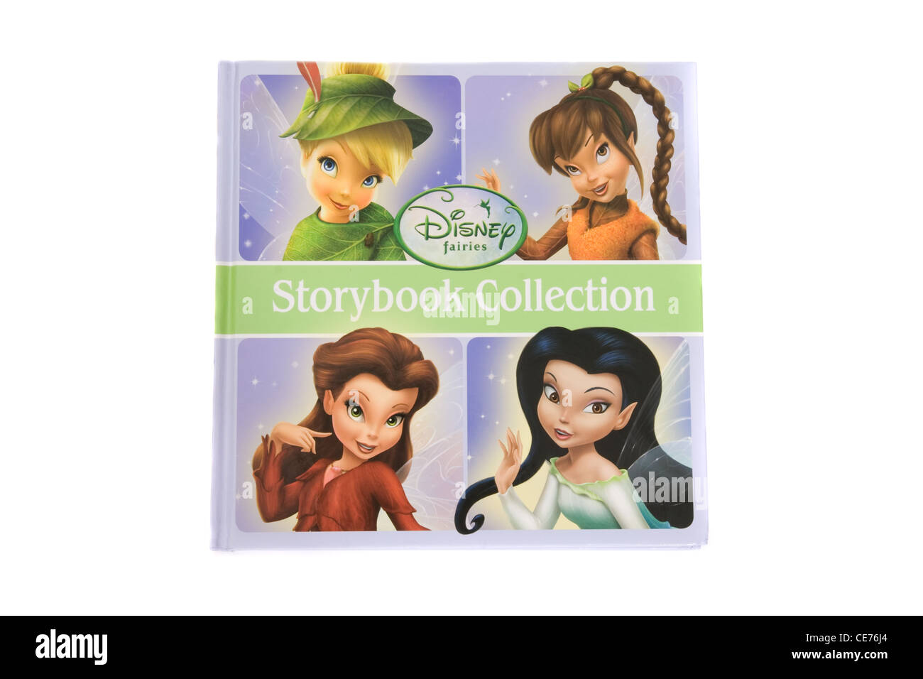 Disney's Fairies Storybook Collection. - Stock Image