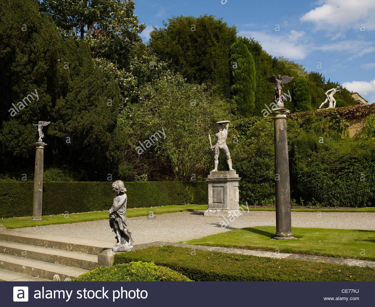 Blenheim Palace near Woodstock in Oxfordsh - Stock Image