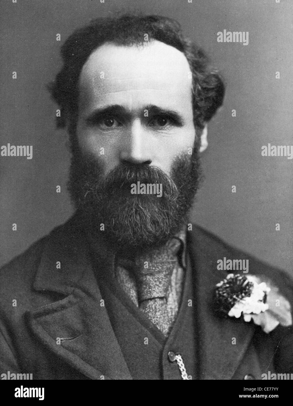 JAMES KEIR HARDIE (1856-1915) Scottish socialist instrumental in founding the British Labour Party - Stock Image