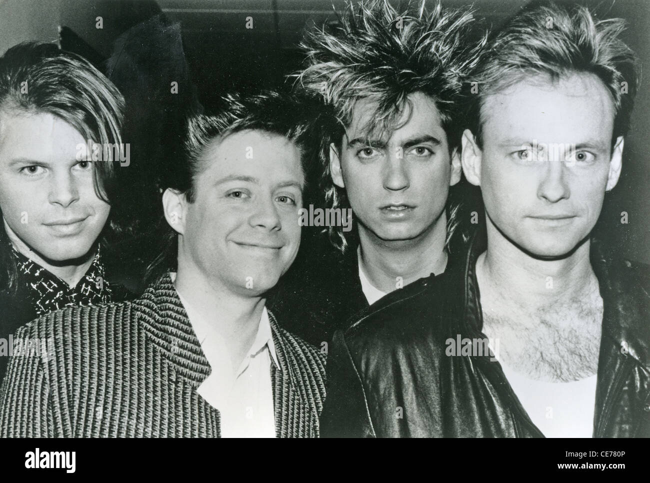 MISTER C  - Promotional photo of UK group about 1986 - Stock Image