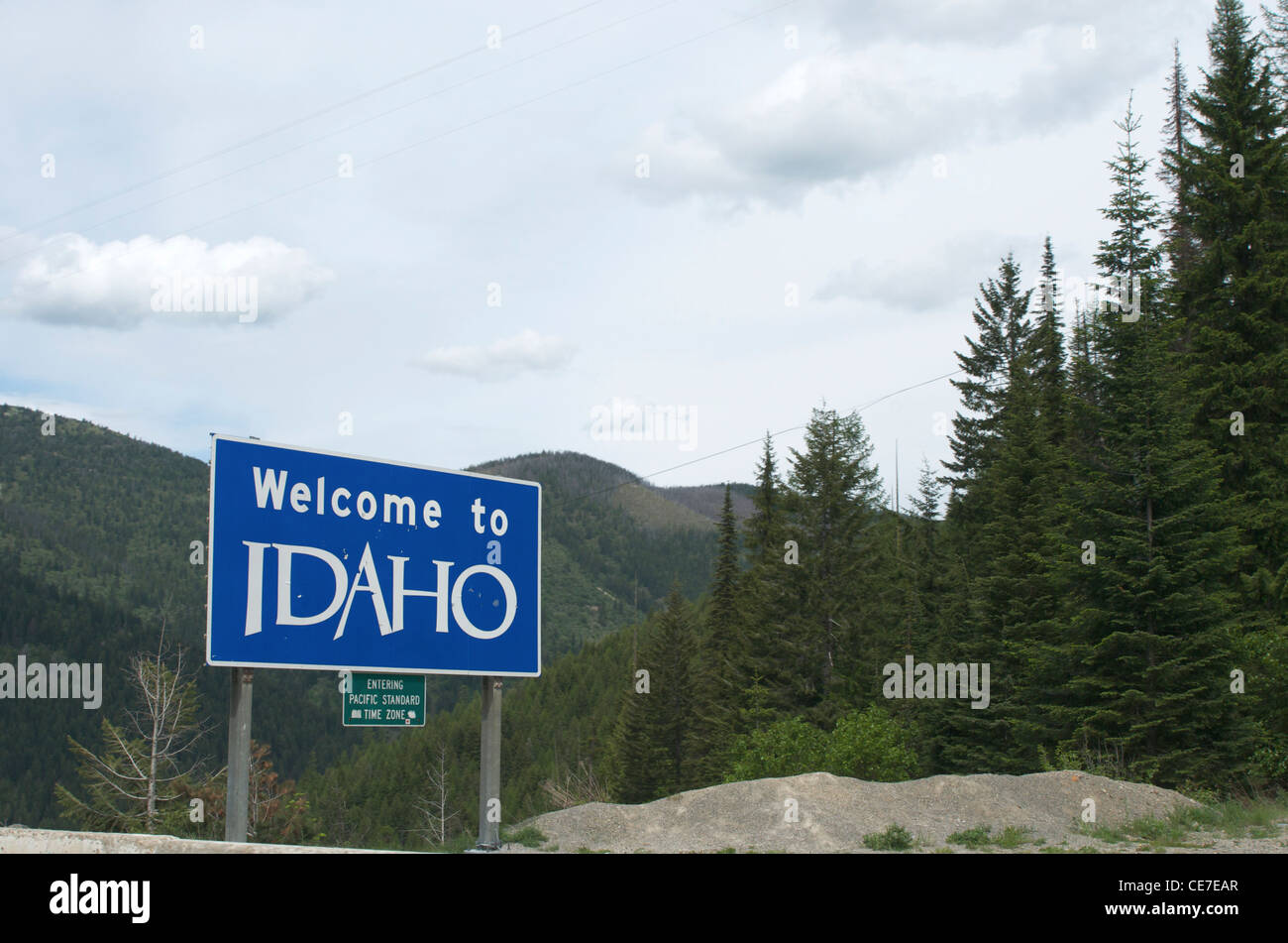 time in idaho
