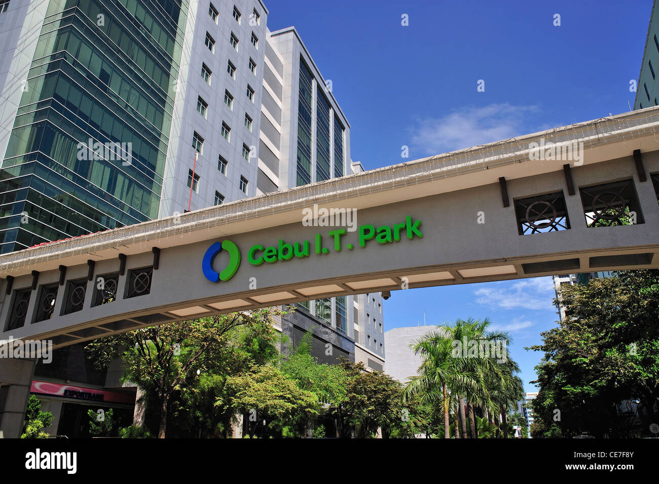 Cebu I.T. Park Cebu City Philippines - Stock Image
