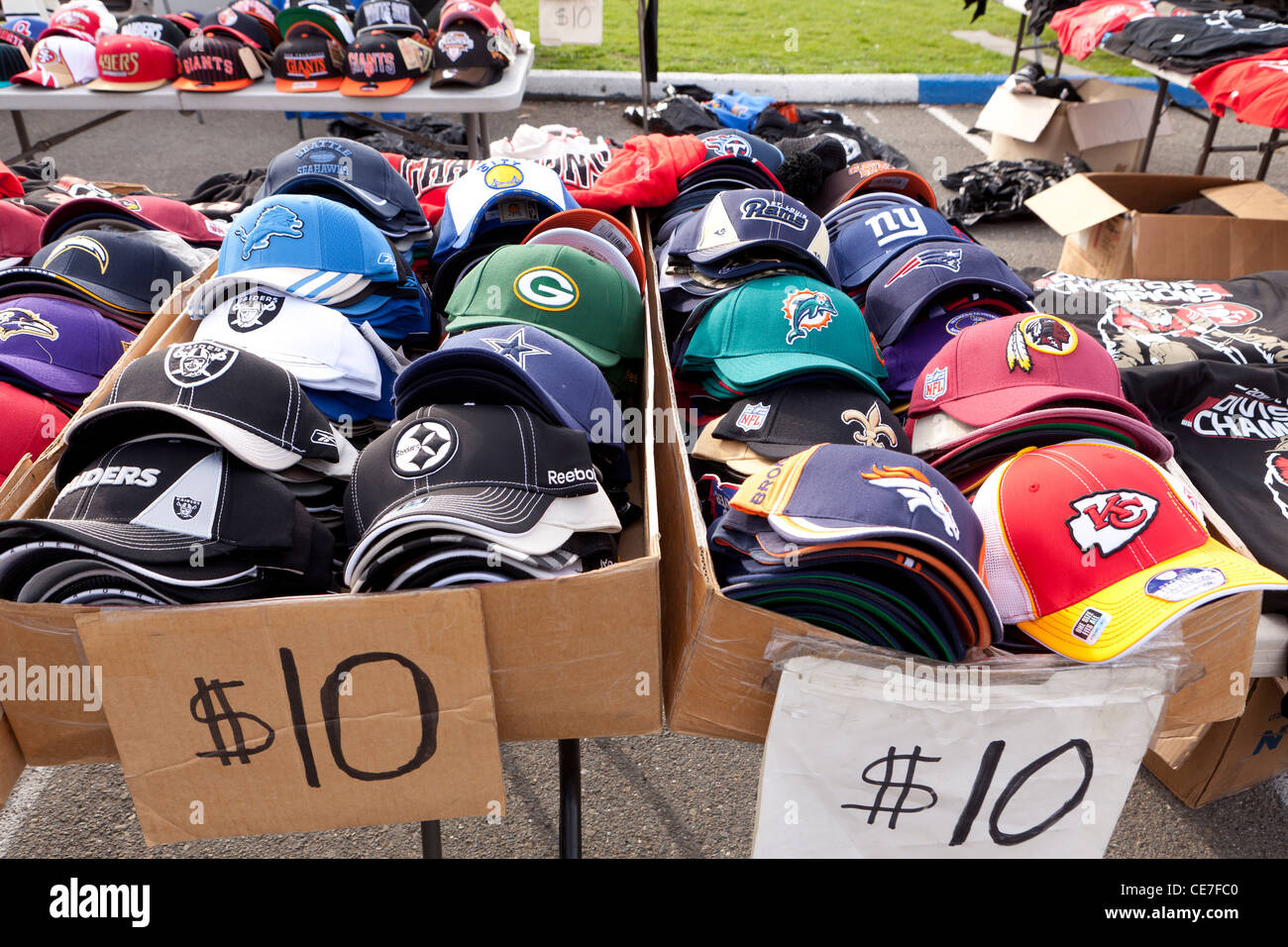 American Football team caps for sale at