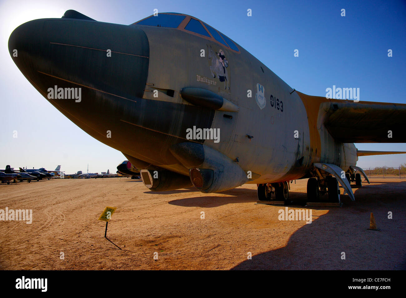 Boeing B52 Stock Photo