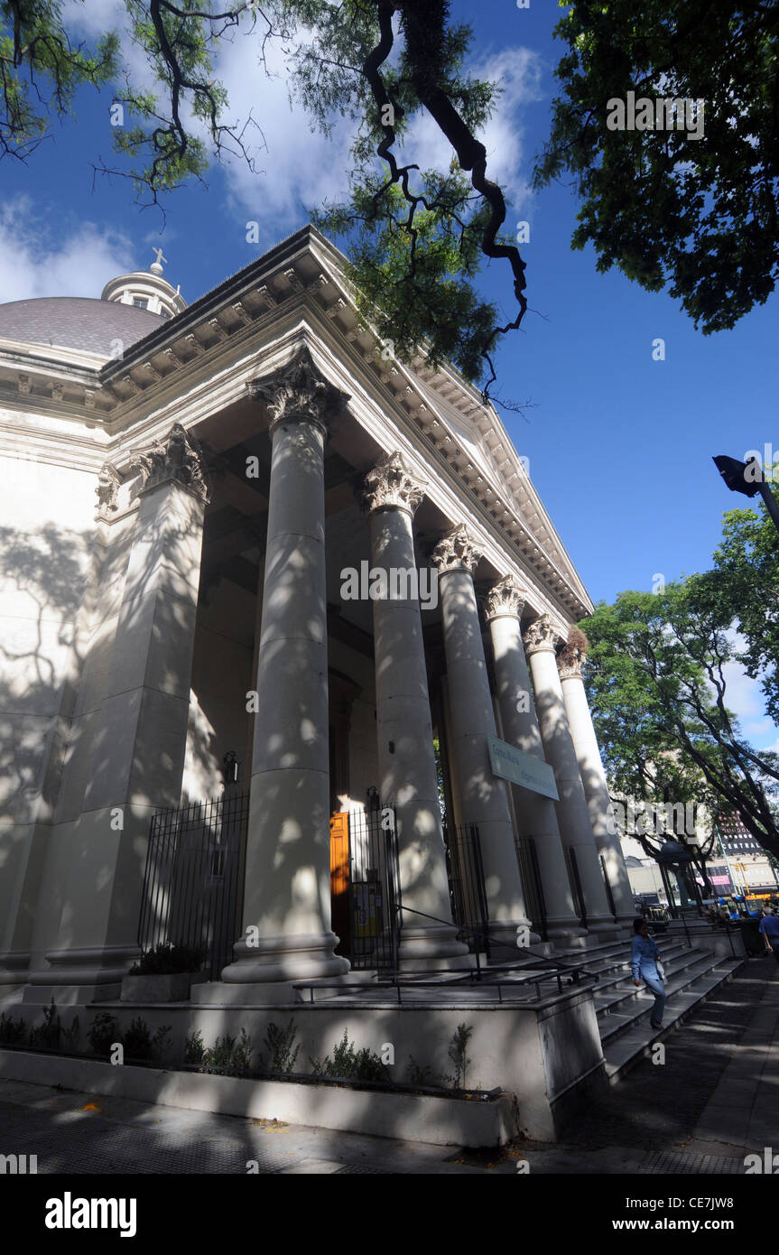 Church of the Immaculate Conception, Belgrano, Buenos Aires, Argentina. No PR or MR - Stock Image