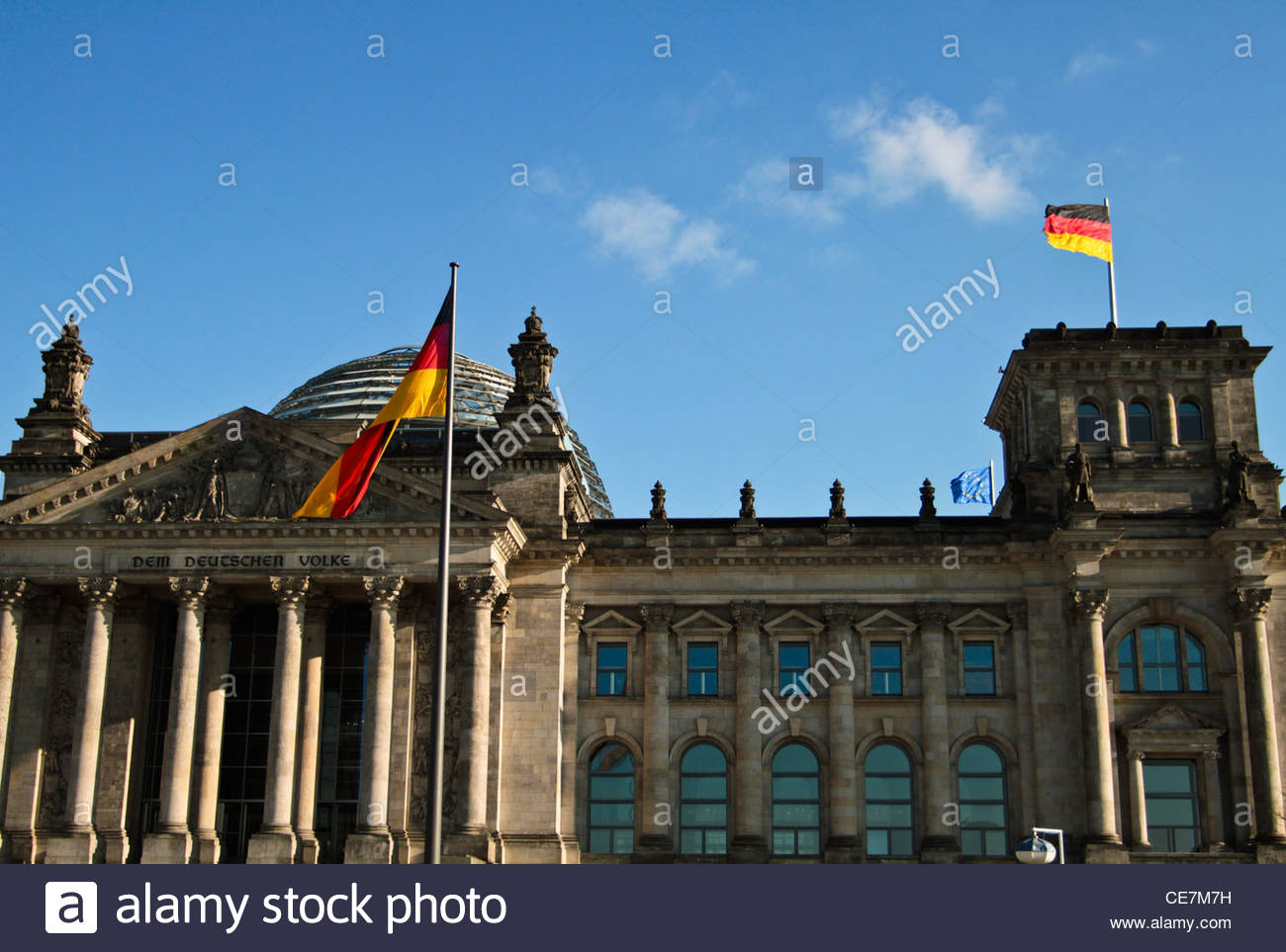 Reichstag Berlin, Germany - Stock Image