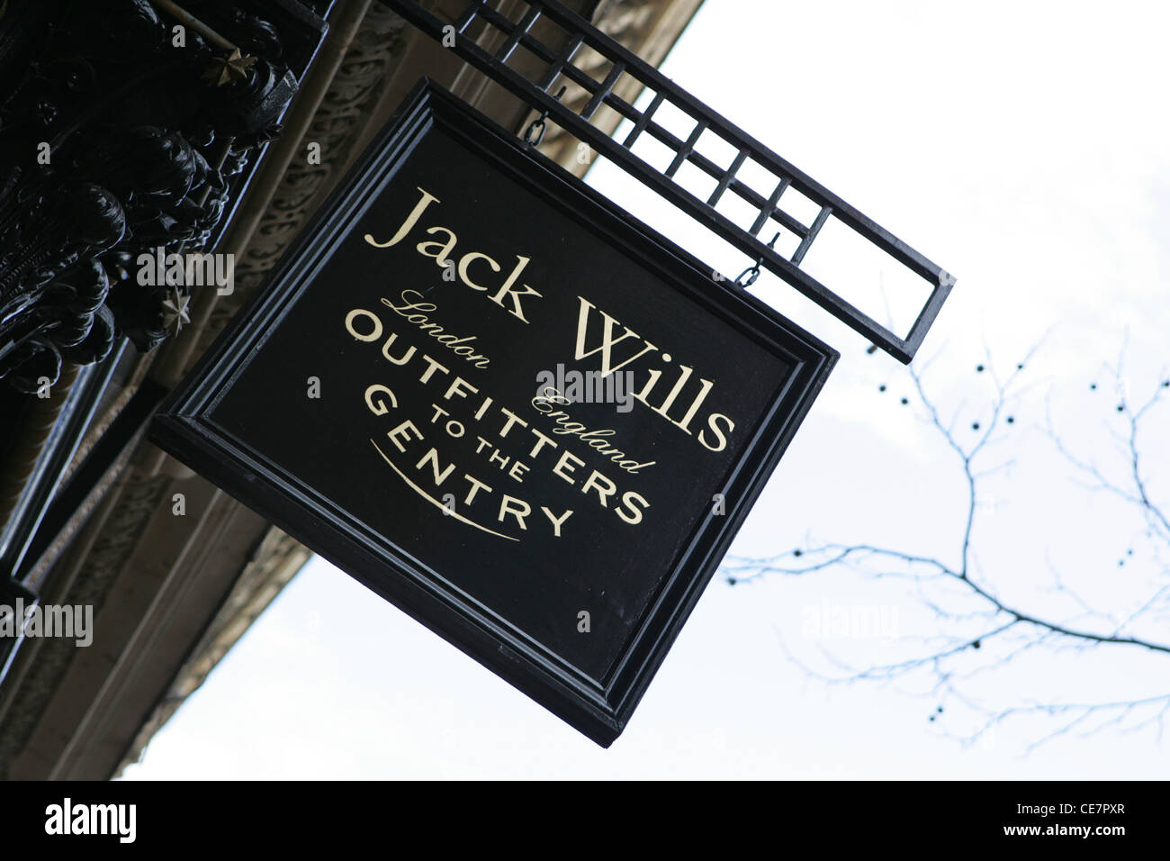 jack wills outfitters store birmingham uk - Stock Image