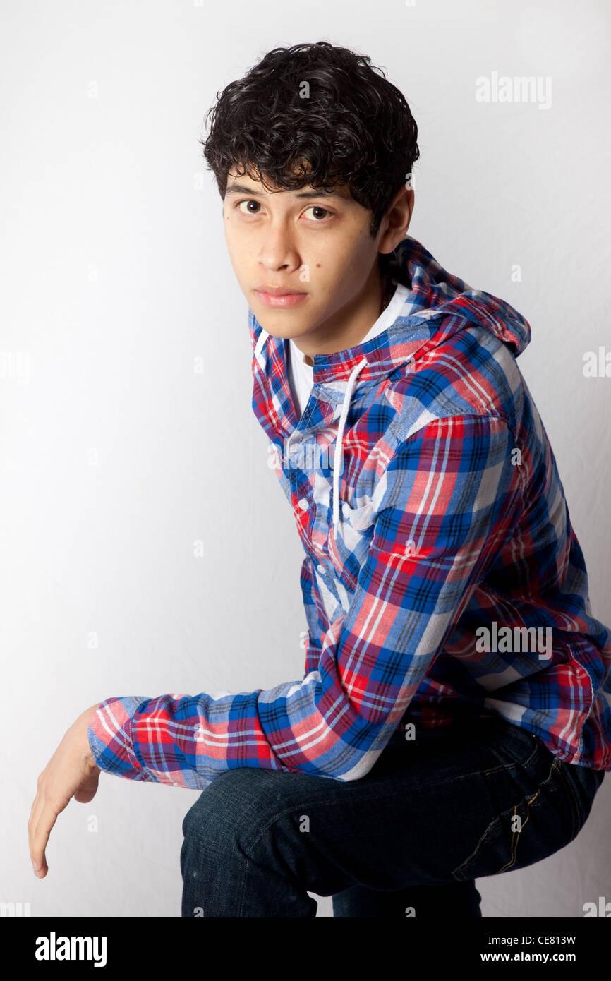 Young latin boy