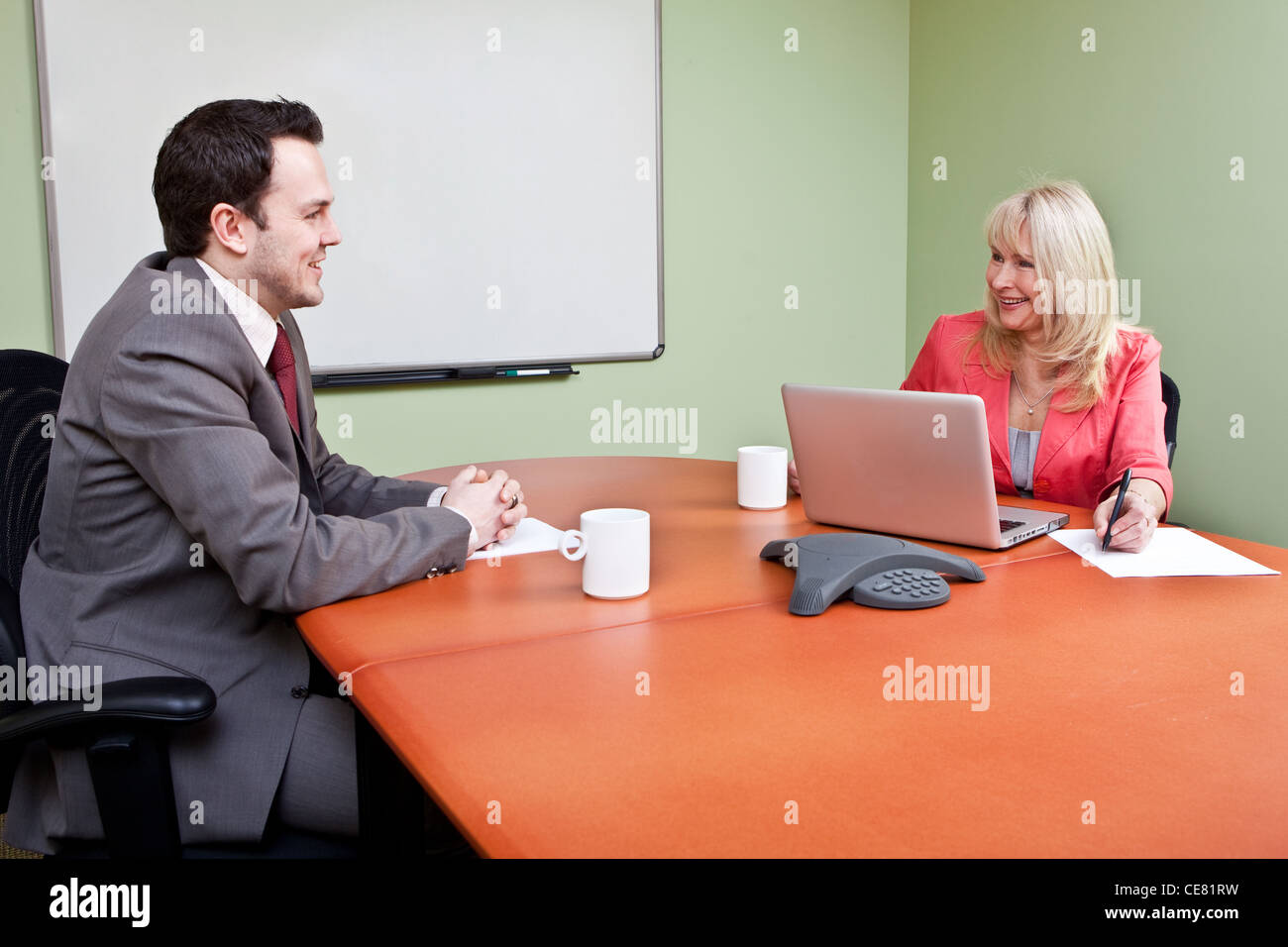 Job Interview - Stock Image