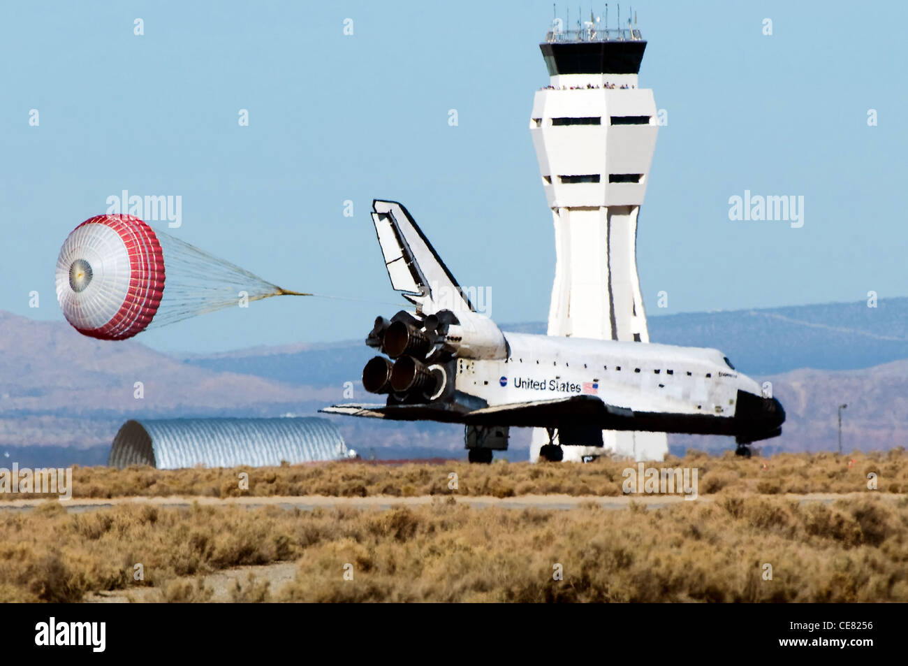space shuttle landing at edwards air force base - photo #30