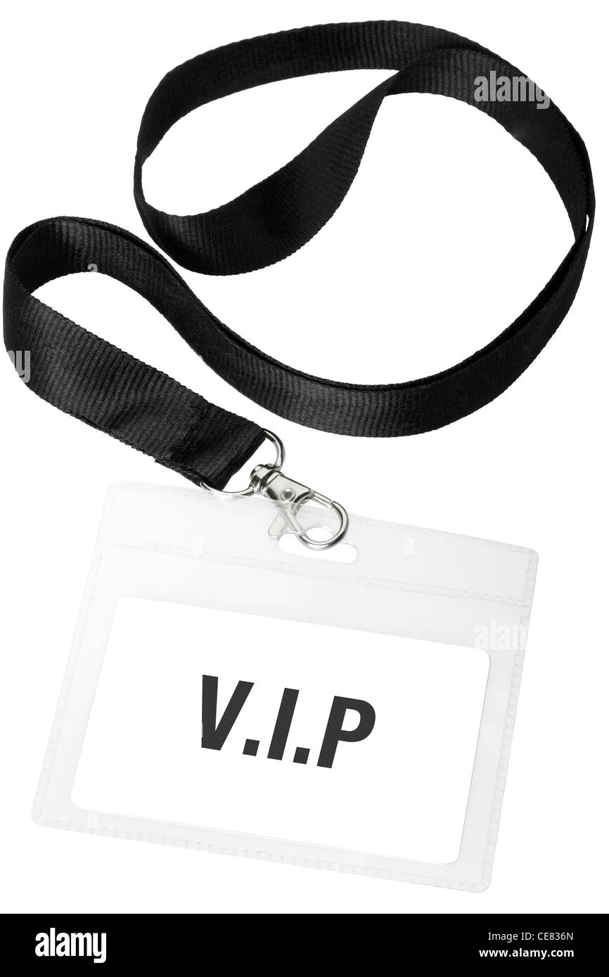 Vip badge - Stock Image