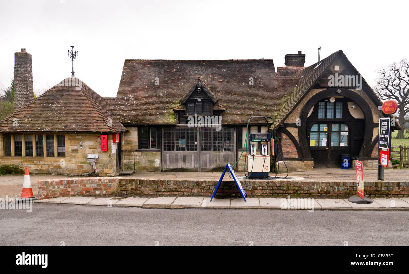The Old Forge Penshurst Combining The Village Shop A Petrol Stock