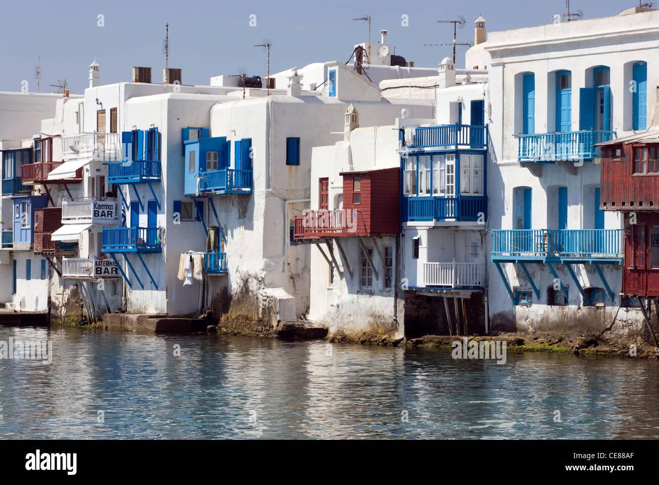 Mykonos: Alefkandra   Waterfront Houses U0026 Bars