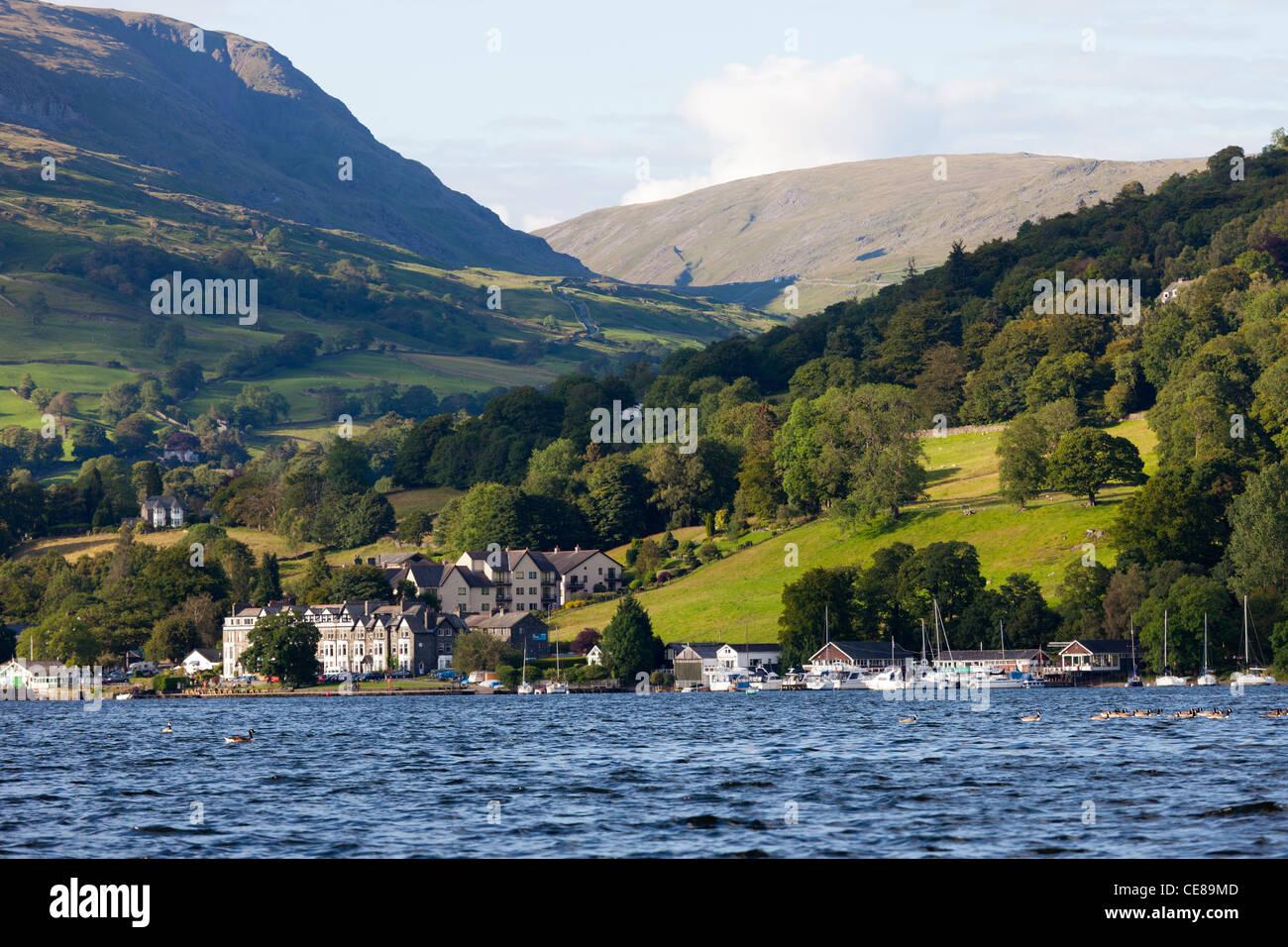Lake Windermere Cumbria, England - Stock Image