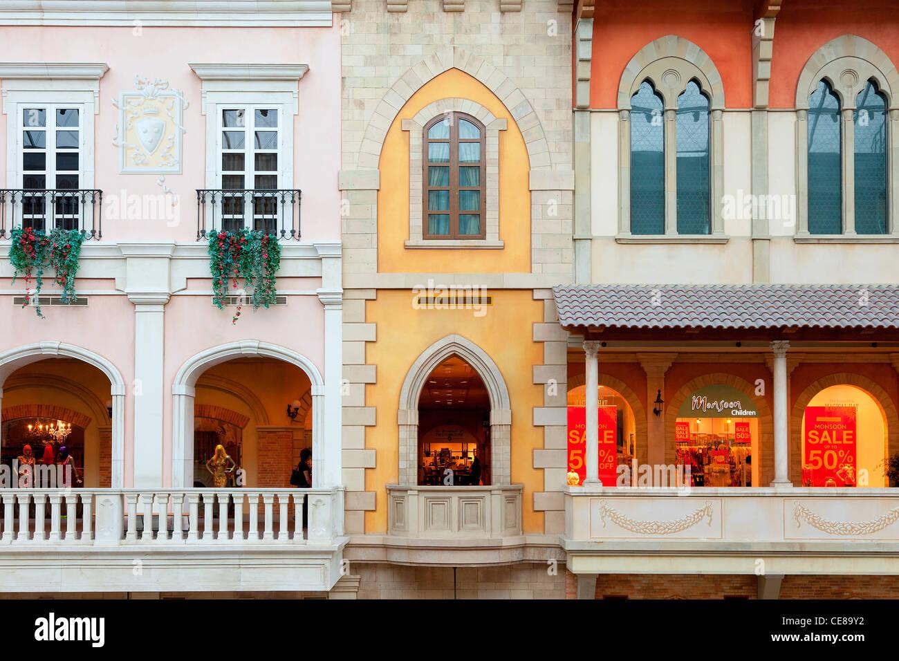 Dubai, Jumeirah, Mercato Shopping Mall - Stock Image