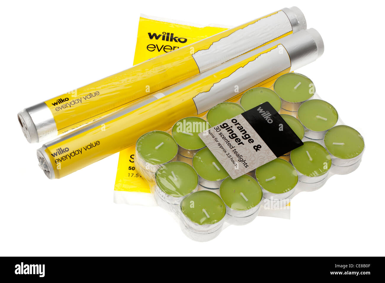 Wilko shop products - Stock Image