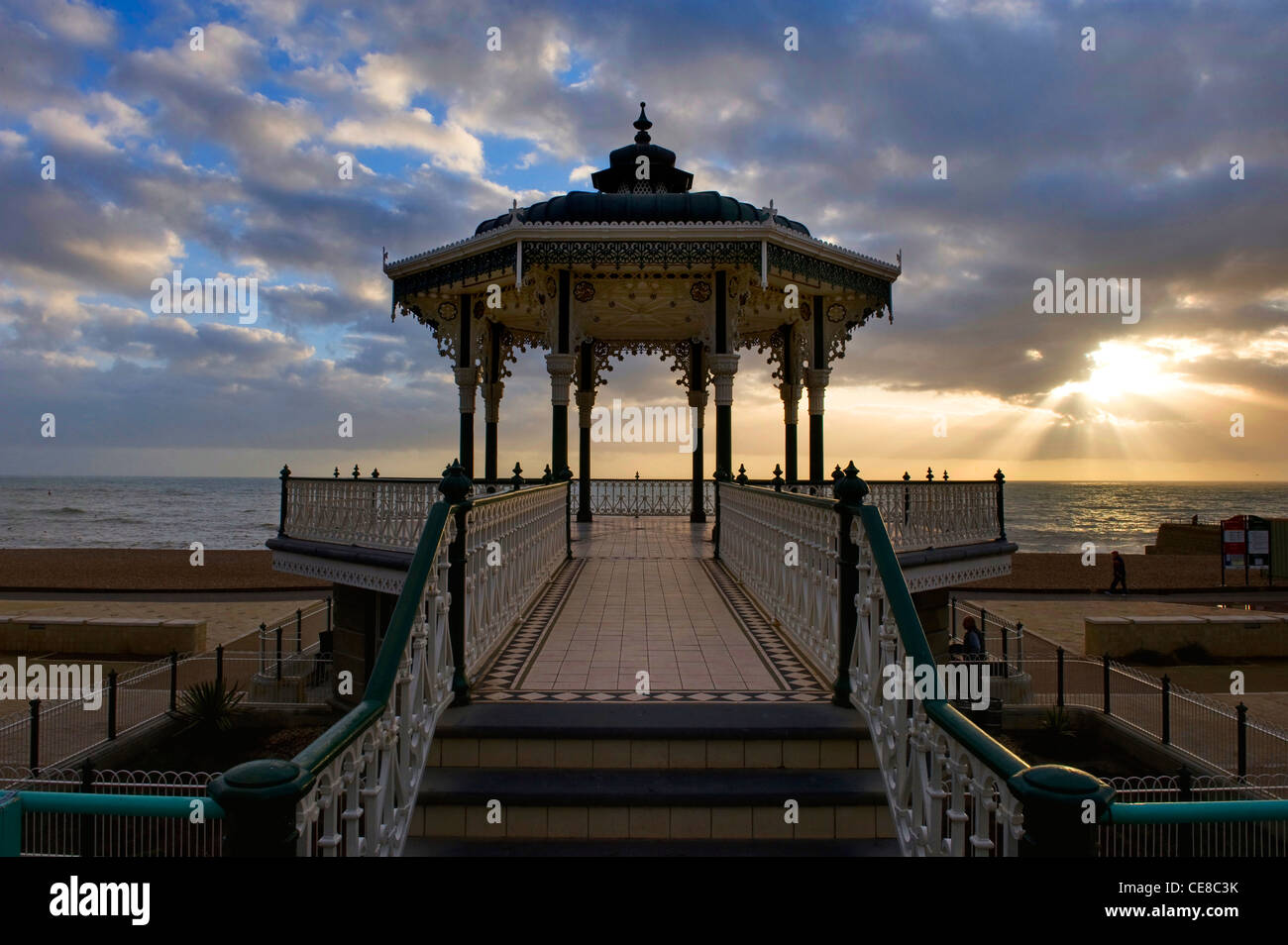 The Bandstand, Brighton, England - Stock Image
