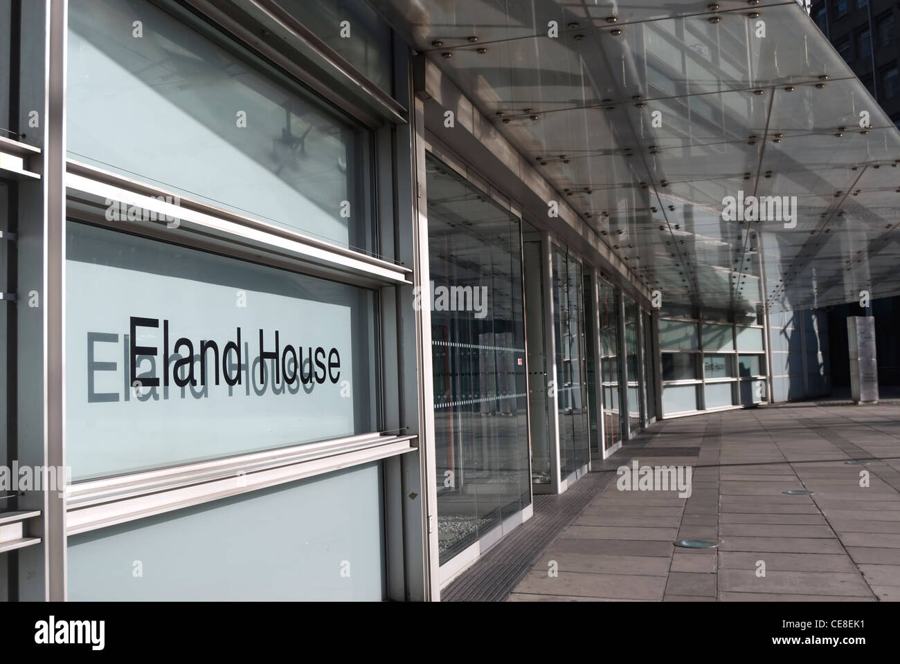 the 1995 eland house, london, england, by epr architects, occupied by the department of communities and local government - Stock Image