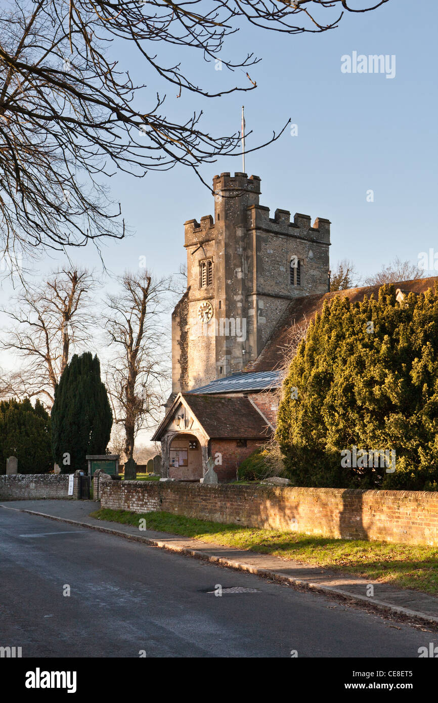 Little Missenden Parish Church, Buckinghamshire - Stock Image