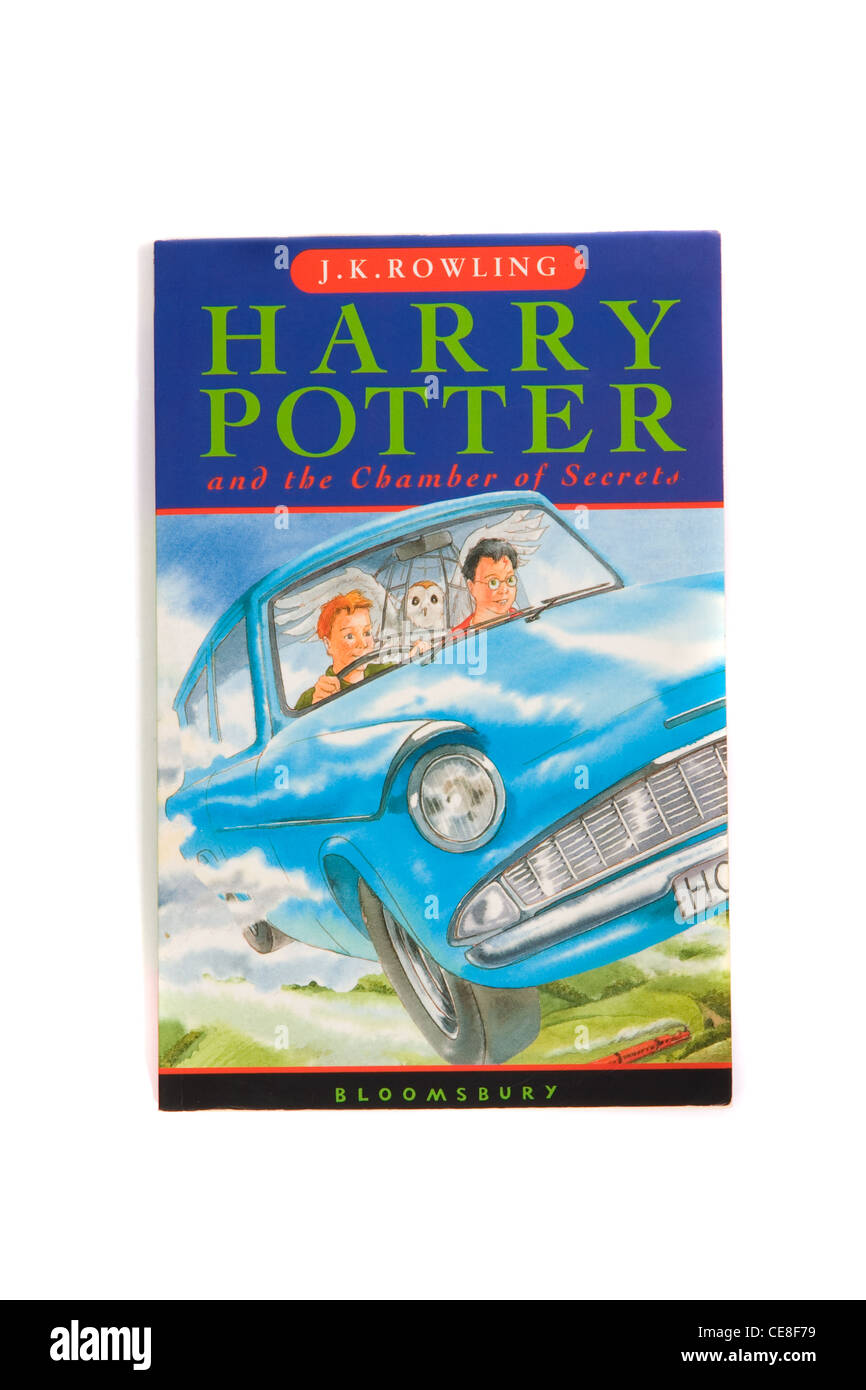 Harry Potter and the Chamber of Secrets by J K Rowling - Stock Image