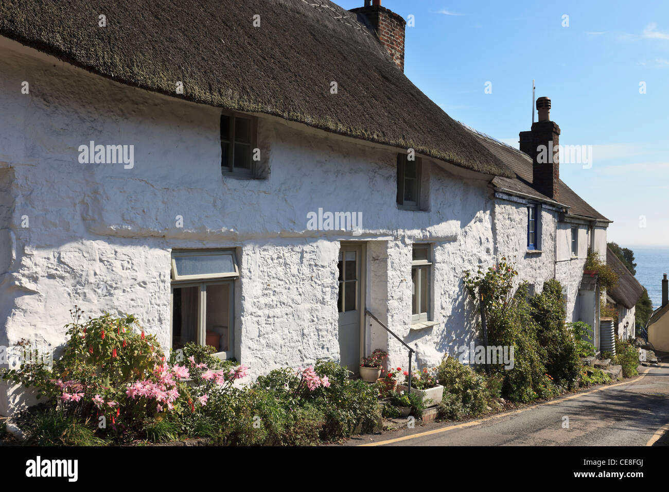 Cornish Cottages Stock Photos Amp Cornish Cottages Stock