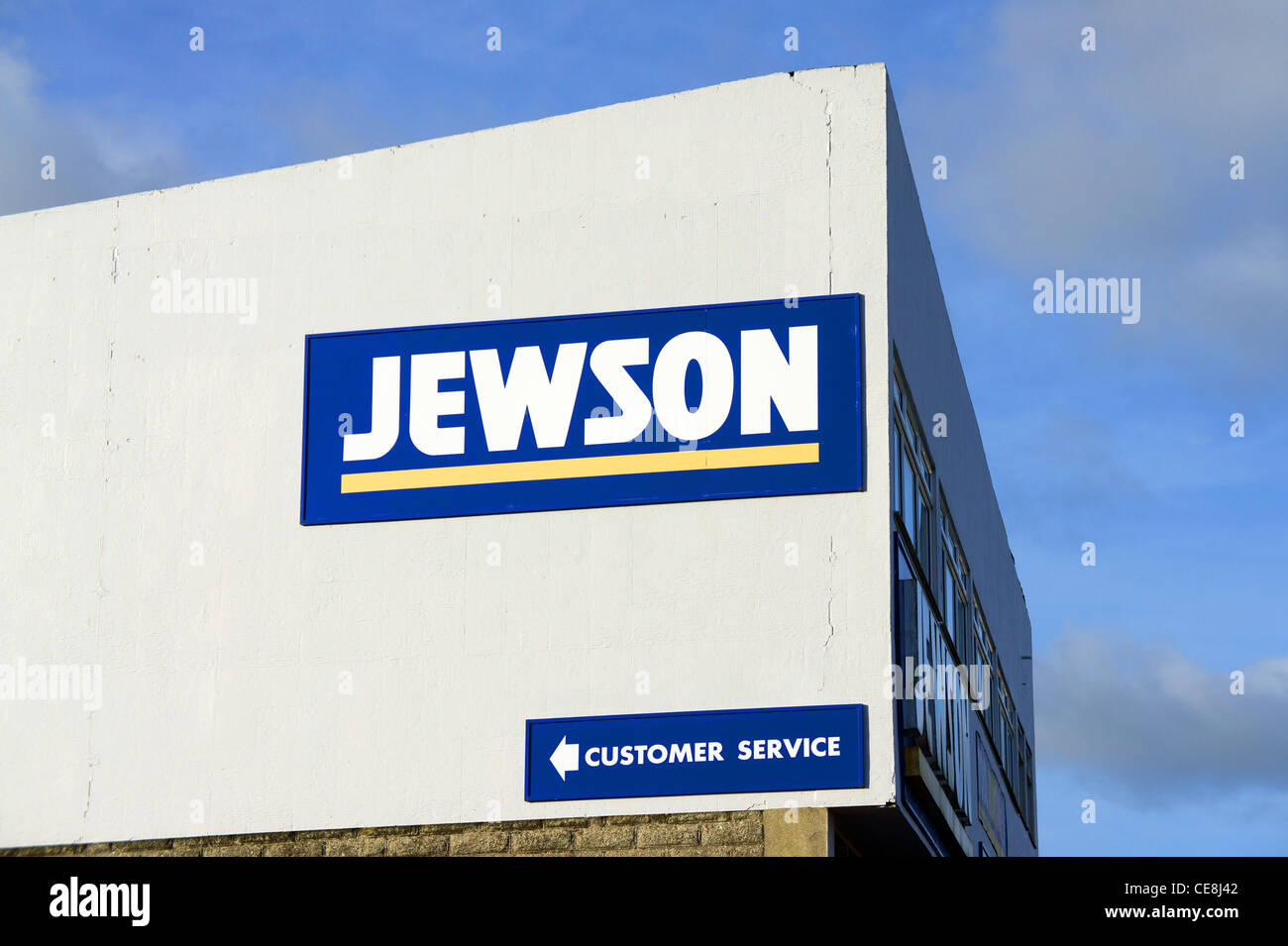 A Jewson builders supplies store, uk - Stock Image
