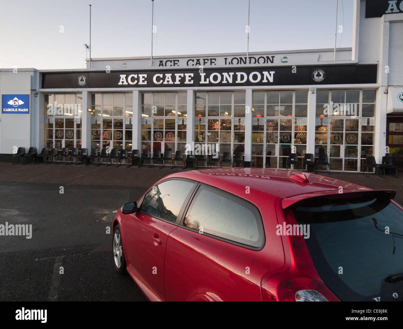 Ace Café,London,England - Stock Image