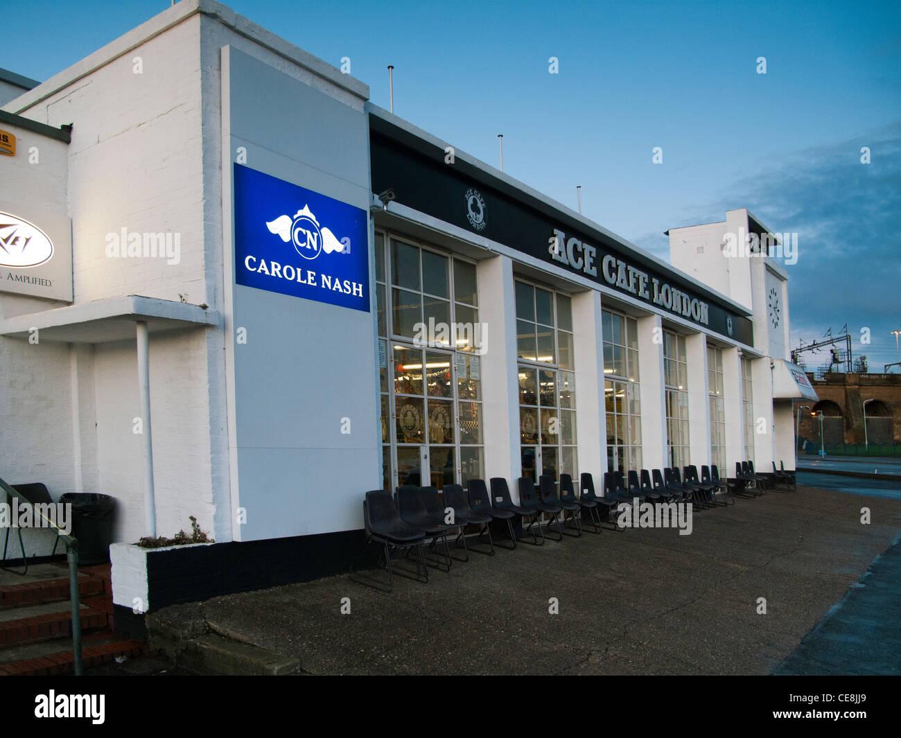 Ace Café,London,UK - Stock Image