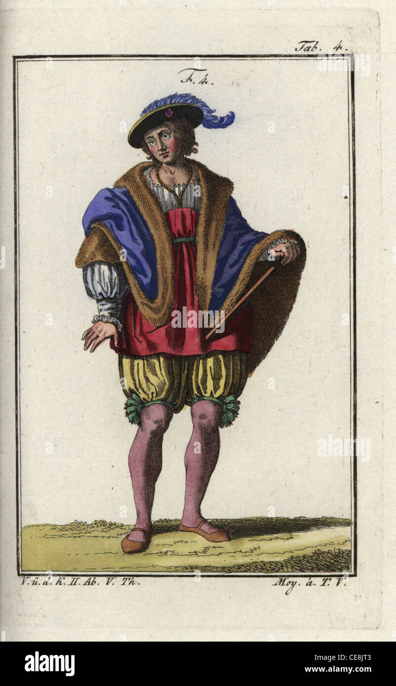 Ludwig von Trimouille (Louis la Trimoille), Viscount of Thouars - Stock Image