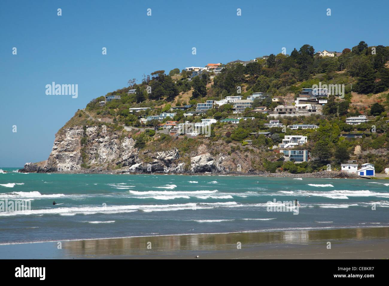 Christchurch New Zealand News: Sumner Beach, Christchurch, Canterbury, South Island, New