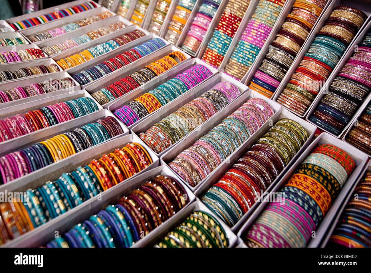 stock in tamilnadu madurai alamy bthctk bangle shop bangles photo