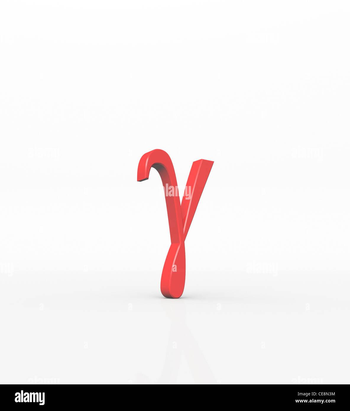 Gamma third letter Greek alphabet In system Greek numerals it value 3 lower-case letter