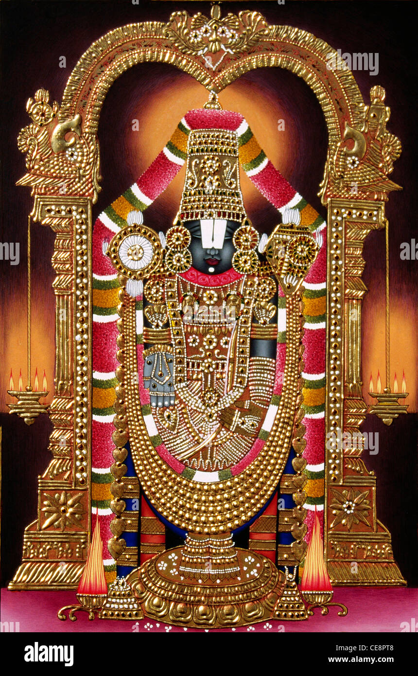 Tirupati Balaji High Resolution Stock Photography And Images Alamy
