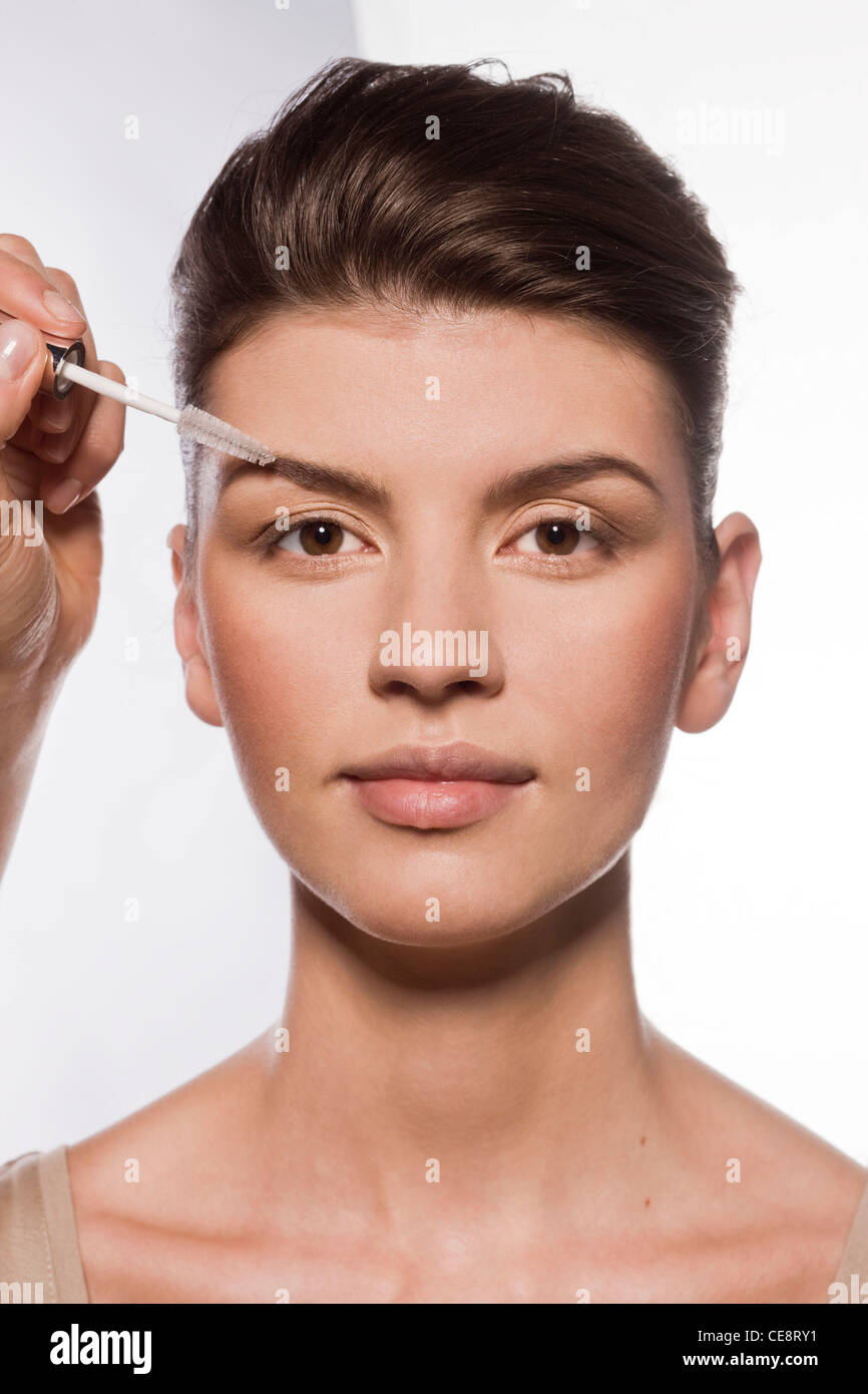 Eyebrows nutrition - Stock Image